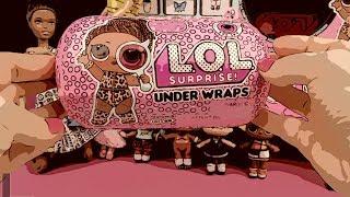 LOL Sürpriz Under Wraps Seri 4 Yumuşak Kaplamalı LOL Bebek Barbie Kombin Challenge Bidünya Oyuncak