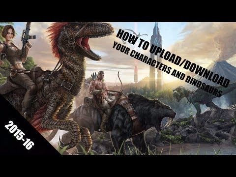 [Xbox One/PS4] How to Upload/Download a Character and Dinosaur on Ark  Survival Evolved