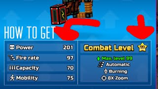 How to get LVL 99 WEAPONS IN PG3D!!!!