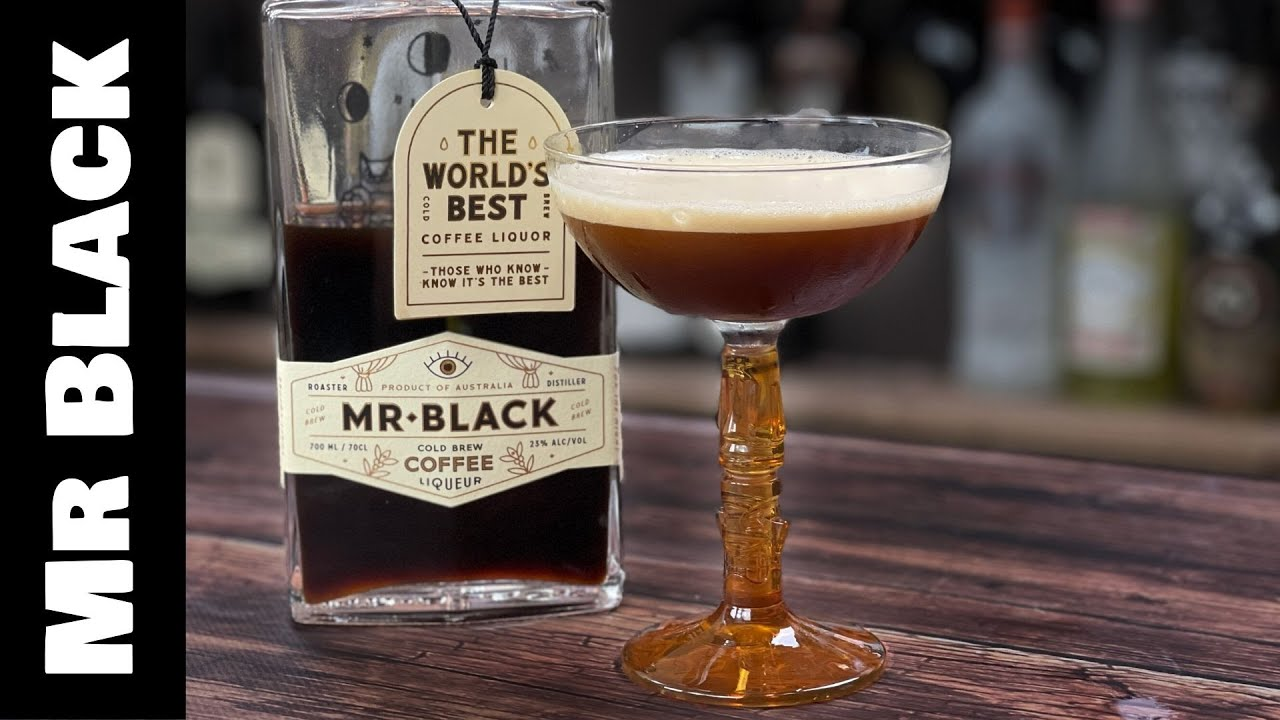 Mr Black Coffee Cocktails - Espresso Martini with Almond