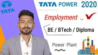 TATA POWER 2020 ???? Employment Centric Courses    BE/BTech/Diploma – Mechanical Guru