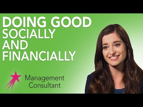 Management Consultant: What is Impact Investing - Alanna Hughes Career Girls Role Model