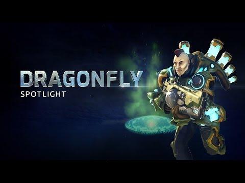 Dragonfly Battleframe Spotlight - Firefall