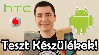 Az első Teszt Készülékek!!! #HTC, Vodafone# thumbnail