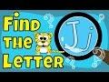 Alphabet Games   Find the Letter J