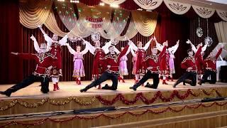 Звёздная капель 2019  Русский танец хореографический коллектив 10 11 классов
