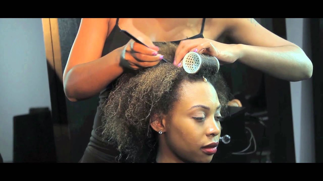Tension Rollers For Natural Hair