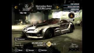 NFS Most Wanted En İyi Arabalar(MODİFİYELİ)