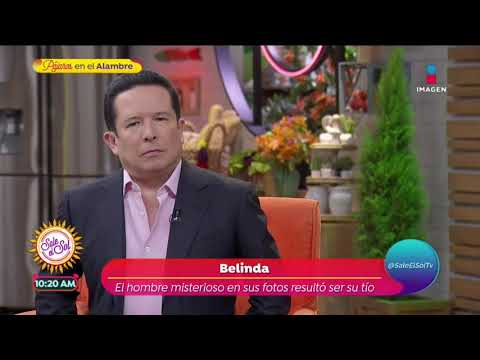 Dejen de decir que es mi novio; es mi tío: Belinda