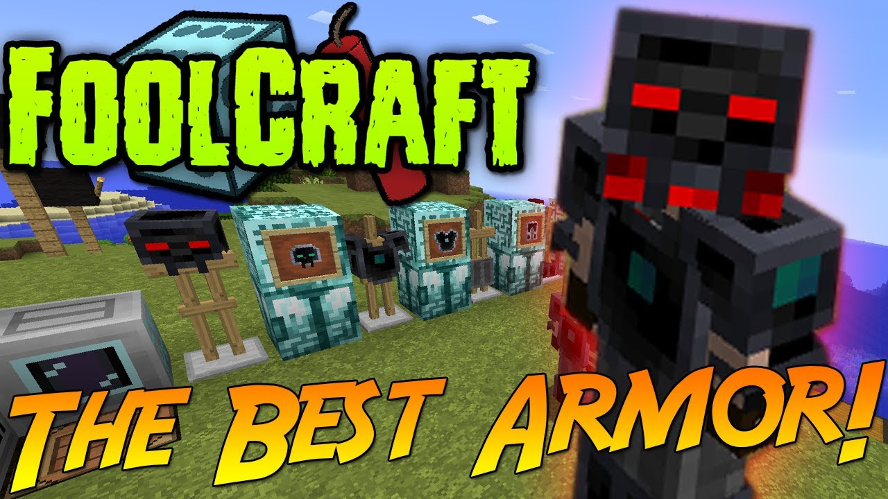 FoolCraft: The Best Armor! & How To Make It! [Avaritia Mod]