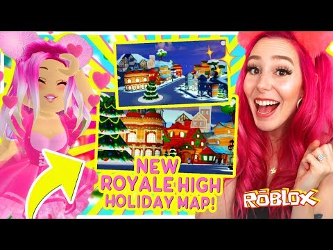Royale High Christmas 2020 NEW* FIRST LOOK Royale High Christmas Map LEAKED!! New Roblox