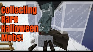 [Live stream] Collecting rare mobs in Survival! {24hr Halloween Special!} (Part 1)