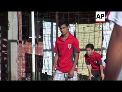 Cricket thriving in Argentina's shantytowns