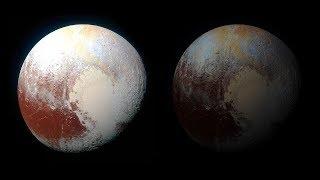 How dark is it on Pluto?