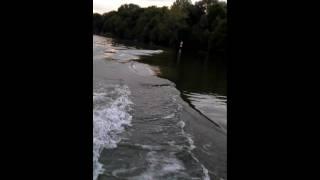 Yamaha 5 cv sur bateau iguane 270