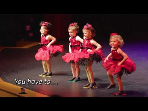 Little girl CUTS LOOSE and STEALS the show!