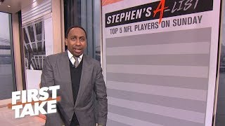 Stephen A.'s Top 5 players to watch for NFL Conference Championship games | First Take