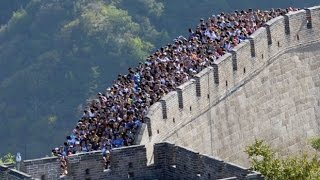 Repeat youtube video Great Wall of China Is Disappearing