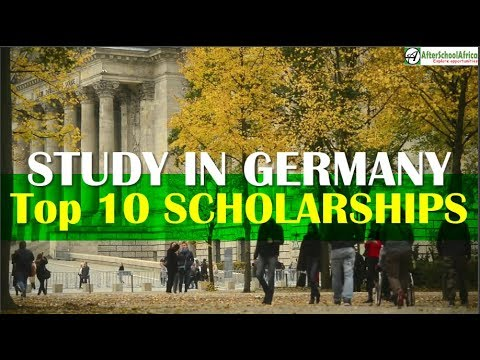 Top 10 Scholarships In Germany For International Students   Top 10 Series