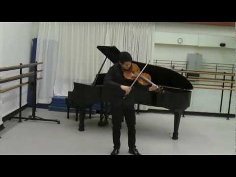 Bach Suite No. 6 Allemande - Chieh-Fan Yiu, Viola