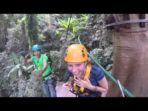 Flight Of The Gibbon Zip Line In Chiangmai By GoPro Hero 4 Black - Our Trip To Thailand