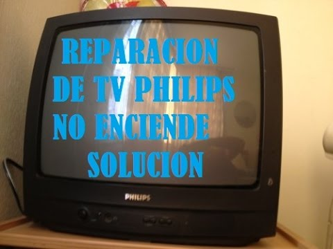 reparacion de tv philips no encendia george electronica