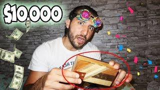 WIN $10,000 IF YOU CAN OPEN THIS IMPOSSIBLE PUZZLE BOX CHALLENGE!