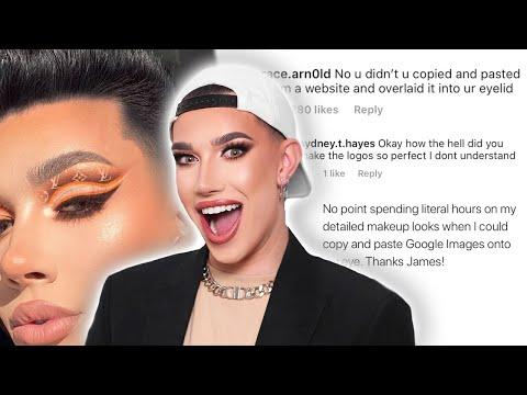James Charles caught editing his makeup?! (WEEKLY RESPILL) thumbnail