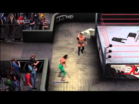 HD: WWE Smackdown vs RAW 2011 - Extreme Rules Match - One vs One