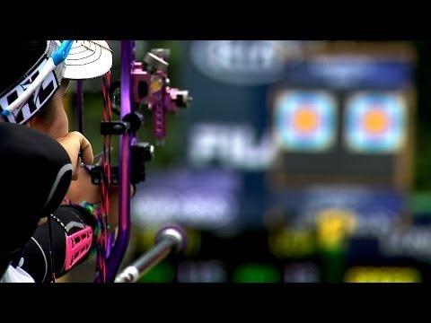 Compound Women Team Gold - Stage 2 : MEDELLIN - Archery World Cup 2014
