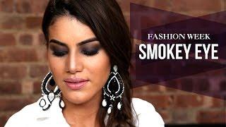 Fashion Week Inspired Smokey Eye Thumbnail
