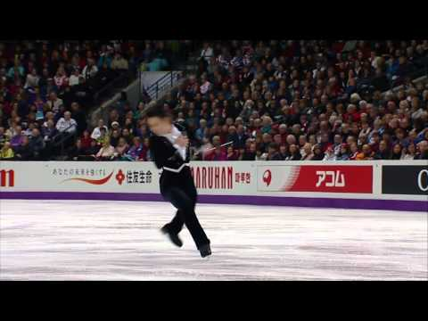 2013 Worlds Denis Ten SP [CBC-HD]