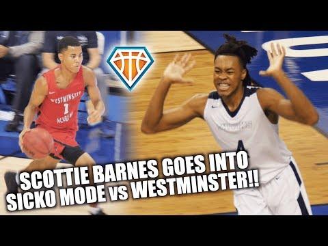 Scottie Barnes GOES INTO SICKO MODE vs Westminster Academy!! | Top Broward Teams FACE OFF