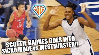 Scottie Barnes GOES INTO SICKO MODE vs Westminster Academy!! | Top Broward Teams FACE OFF