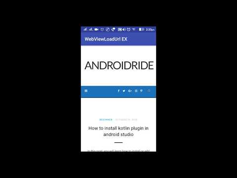 9 Android WebView Example tutorials that had gone way too