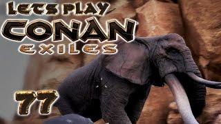 CONAN EXILES Deutsch #77 ELEFANTEN JAGEN [ German Gameplay Deutsch ]
