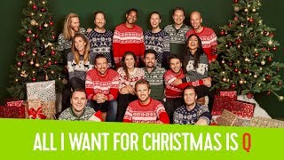 Q-dj's zingen 'All I Want For Christmas is Q' // Qmusic