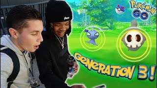 CATCHING GEN 3 POKÉMON WITH RAPPERS & ON STAGE AT ROLLING LOUD! + BEST SPECIAL BOX IN POKÉMON GO!