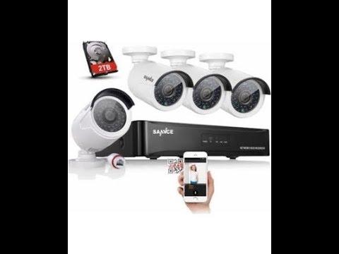 Unboxing SANNCE NVR 4 caméras 1080P POE