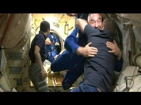 Two US Astronauts, One Russian Cosmonaut Arrive At Space Station