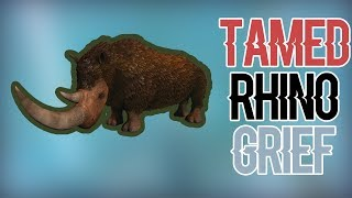 Tamed Rhino Grief | Small Tribes | ARK: Official PVP