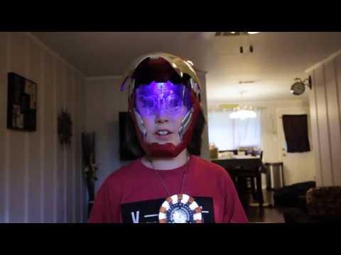 A new Iron Man mask!