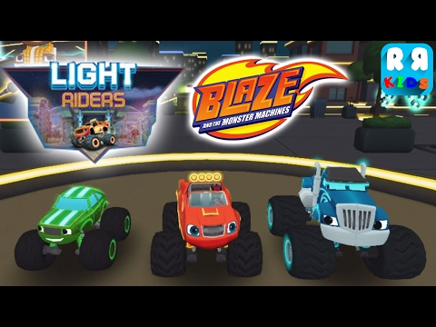 Blaze and the Monster Machines - Update New Location Light Riders