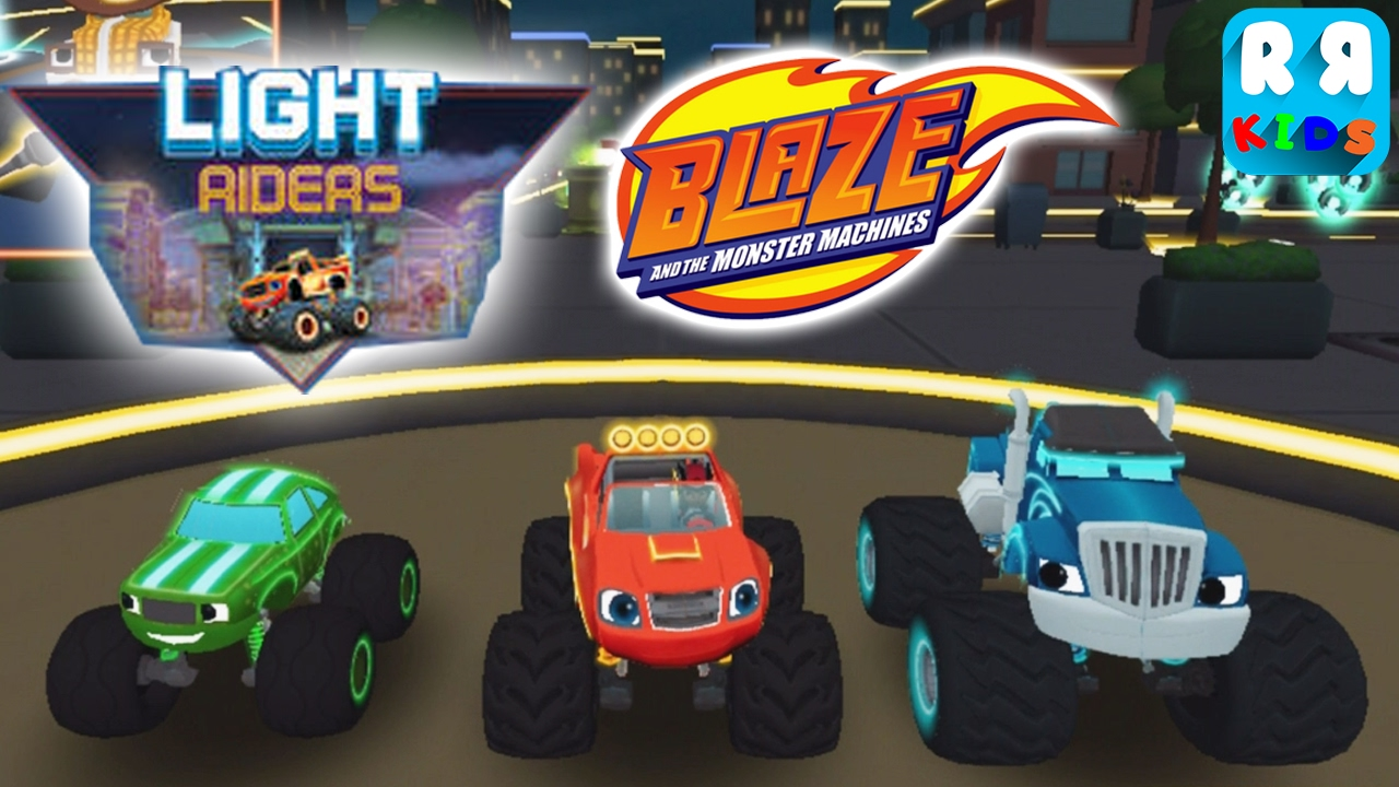Blaze And The Monster Machines Update New Location Light
