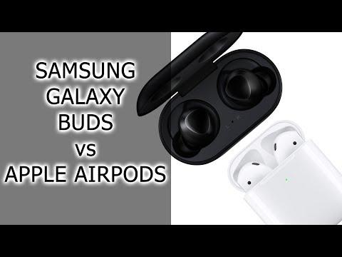 СРАВНЕНИЕ Samsung Galaxy Buds Vs Apple AirPods 2