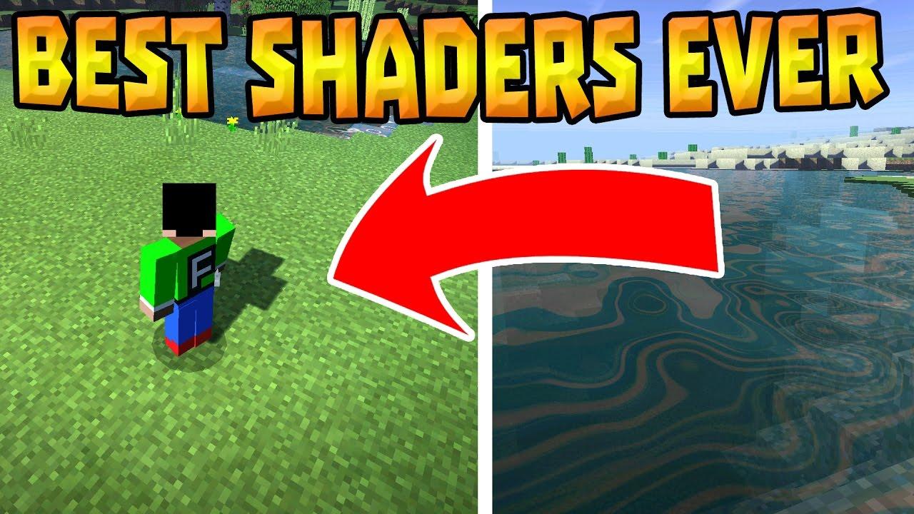 BEST SHADERS in MCPE 0 17 0!!! - Seus PE Shader - Minecraft