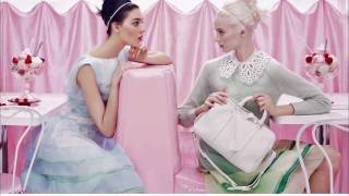 making of   louis vuitton spring 2012 ad campaign