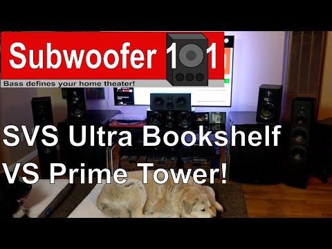 SVS Ultra Bookshelf VS Prime Tower Speakers Whats Most Important To You Bi