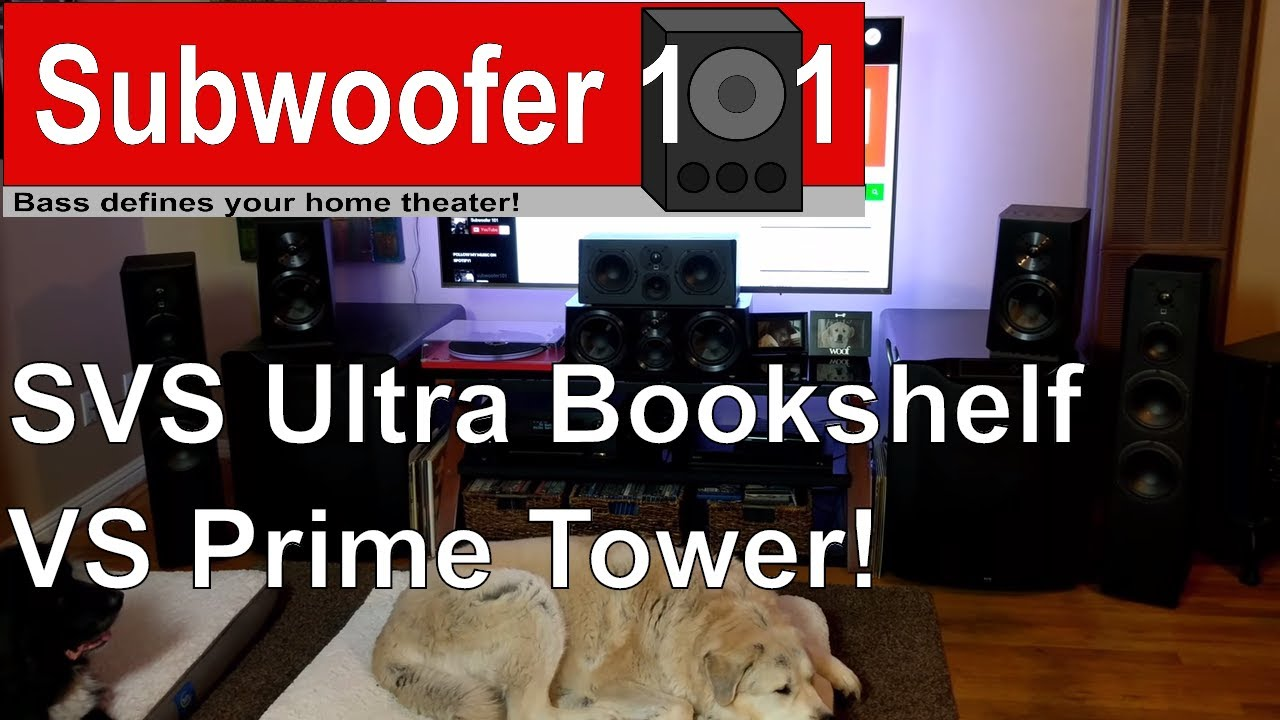 SVS Ultra Bookshelf VS Prime Tower Speakers Whats Most Important To You Bi Amp