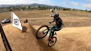 Vaea Verbeeck 2020 GoPro Course Preview - 100% Dual Slalom Rotorua